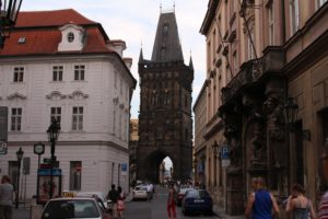 Prague Prašná gate