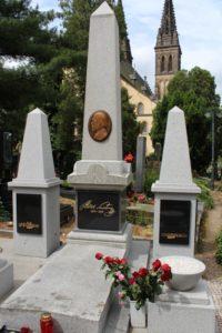 Bedřich Smetana grave at Vyšehrad