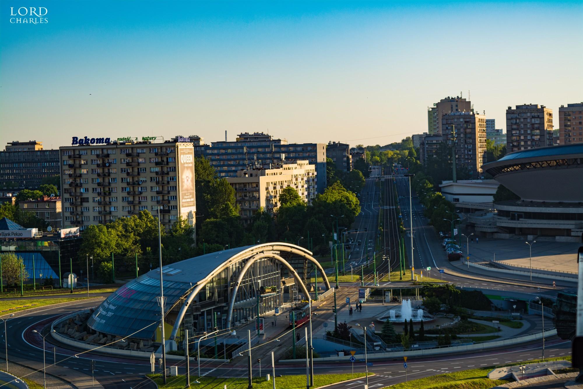 Katowice – Industry spot of Poland