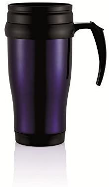 Robust Stainless Steel Coffee Mug – Blue
